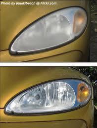 Poliranje oštećenih svjetala na vozilu