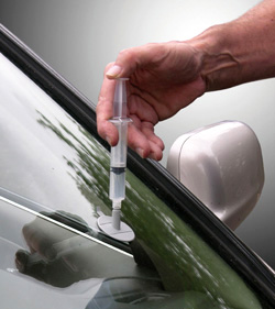 Auto glass reparation
