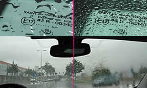 AQUACONTROL - premaz za avto stekla, ki odbija dežne kaplje in snežinke od steklenih površin!